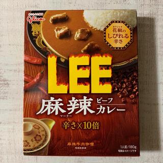 グリコ(グリコ)のグリコ LEE 麻辣ビーフカレー 辛さ×10倍(レトルト食品)