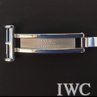インターナショナルウォッチカンパニー(IWC)のIWC   Dバックル 取付幅18mm  美品(腕時計(アナログ))