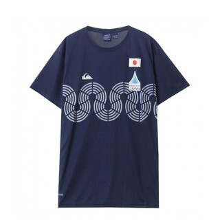 QUIKSILVER - 【レア】波乗りジャパン  サーフTシャツ L  オリンピック サーフィン カノア