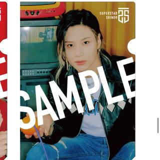 シャイニー(SHINee)のSHINee テミン  クリアファイル 店舗別特典 TSUTAYA【ラスト1枚】(アイドルグッズ)