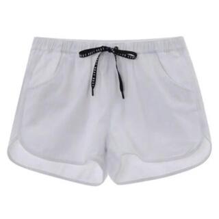 ロキシー(Roxy)の送料無料 新品 ROXY ハイウエスト パンツ LINE UP PANTS L(ショートパンツ)