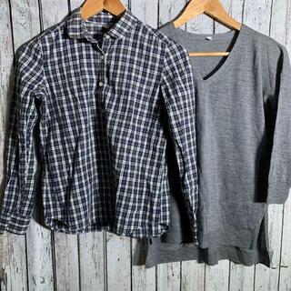 メンズ ティーシャツ ワイシャツ セット Tシャツ Yシャツ ブランド不明(その他)