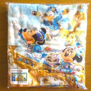 Disney - 未開封 ディズニーシー 15周年 ワイドバスタオル