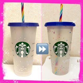 Starbucks Coffee - 残りわずか❗️スターバックス☆海外限定☆リユーザブルカップ&ストロー