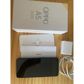 OPPO - OPPO A5 2020 ブルー SIMフリー端末