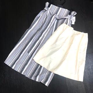 SCOT CLUB - 新品スコットクラブ系ウエストゴム ハイウェスト夏生地スカート
