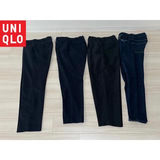 UNIQLO - ユニクロ、ジーユーパンツ4本セット