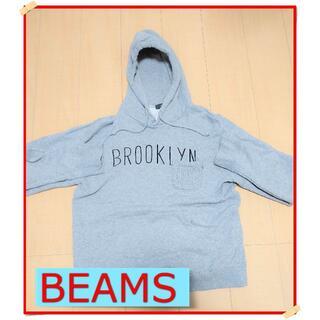 ビームス(BEAMS)のBEAMS パーカー Lサイズ グレー(パーカー)