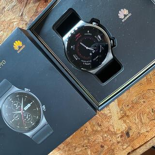 HUAWEI - Huawei watch gt2 pro サファイアガラス チタン 傷なし