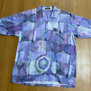 アラミス(Aramis)のARAMISアラミス 半袖オープンシャツ(シャツ)