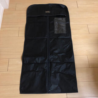 【美品】不織布 衣装カバー ブラック ショップ袋(ショップ袋)