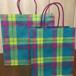イセタン(伊勢丹)のISETAN イセタン 紙袋 ショップ袋 ショッパー 大小2枚(ショップ袋)