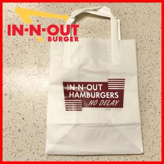 in-n-out burger ショップ袋 【購入時コメント不要です】(ショップ袋)