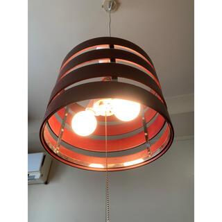 フランフラン(Francfranc)のフランフラン 照明 ウッド 木 4連 天井 コード(天井照明)