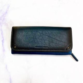 ヒロミチナカノ(HIROMICHI NAKANO)のヒロミチナカノ 長財布 ネイビー ダークグリーン(財布)