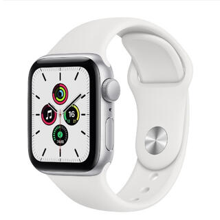 Apple Watch - Apple Watch SE GPSモデル 40mm シルバーアルミニウムケース
