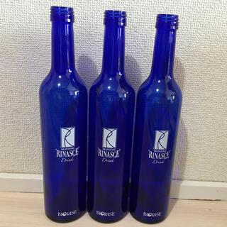 ビオライズ ブルーボトル(空瓶)3本セット(容器)