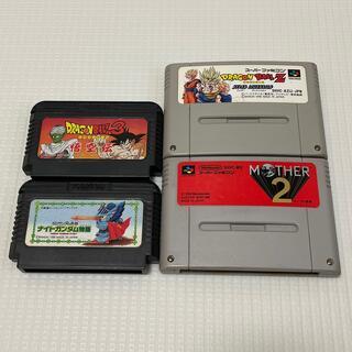 スーパーファミコン(スーパーファミコン)のスーパーファミコン ファミコン ソフト マザー2 ドラゴンボール セット(家庭用ゲームソフト)