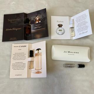 ジョーマローン(Jo Malone)の香水サンプル 4本セット♥PRADA jo malone(香水(女性用))