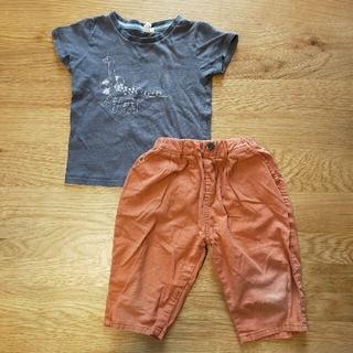 サマンサモスモス(SM2)のSM2 Tシャツ&パンツ セット 110(Tシャツ/カットソー)