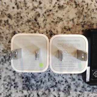 iPhone Apple 純正 USB ACアダプター 2個セット アップル