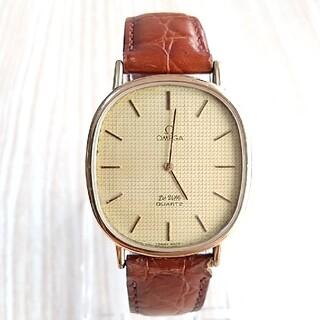 オメガ(OMEGA)のオメガ デビル メンズ腕時計 リューズプッシュ式(腕時計(アナログ))