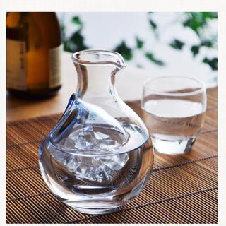 トウヨウササキガラス(東洋佐々木ガラス)の新品*東洋佐々木クリスタル*冷酒徳利*冷酒カラフェ*(タンブラー)
