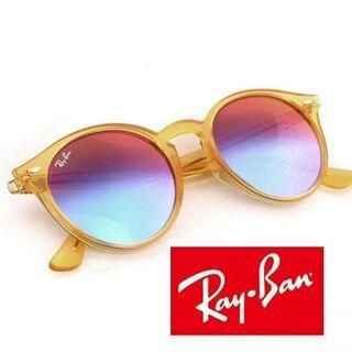 Ray-Ban - Ray-Ban ラウンドシェイプ サングラス RB2180-F レイバン ミラー