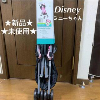 ディズニー(Disney)のディズニー ミニー COSCO  バギー 新品 b型 B型(ベビーカー/バギー)