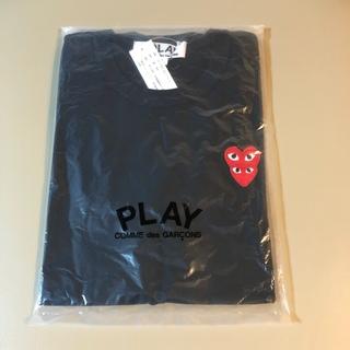 コムデギャルソン(COMME des GARCONS)の正規品 プレイコムデギャルソン 赤ダブルハート(Tシャツ(半袖/袖なし))