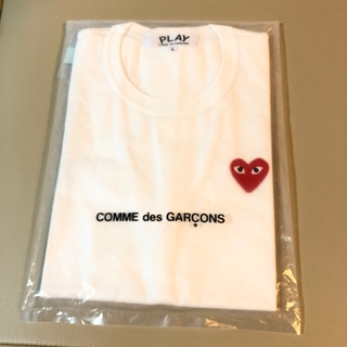 コムデギャルソン(COMME des GARCONS)の正規品 プレイコムデギャルソン 赤ハート(Tシャツ(半袖/袖なし))