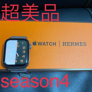 Apple Watch - Apple Watch Series4 Hermès 40MM 美品 エルメス