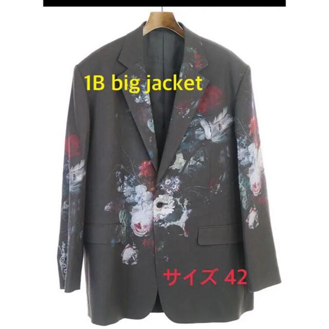 LAD MUSICIAN(ラッドミュージシャン)の値下げ不可 ラッドミュージシャン 19ss 花柄 bigjacket メンズのジャケット/アウター(テーラードジャケット)の商品写真