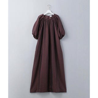 BEAUTY&YOUTH UNITED ARROWS - <6(ROKU)>QUILTED JACQUARD DRESS/ワンピース