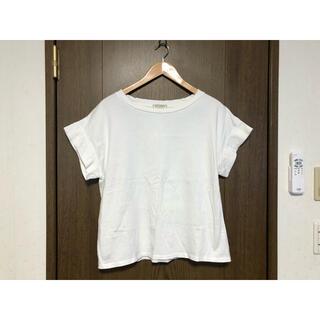 ヤエカ(YAECA)の白半袖Tシャツ(Tシャツ(半袖/袖なし))