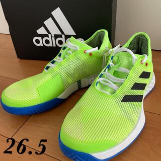 アディダス(adidas)のアディダス adizero ubersonic 2 テニスシューズ 26.5(シューズ)