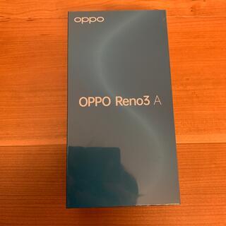 OPPO - OPPO Reno3 A  新品未使用 楽天モバイル