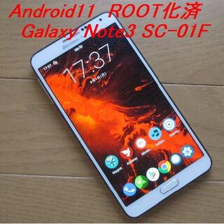 SAMSUNG - 【Android11】Galaxy Note3 SC-01F