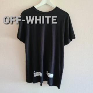 OFF-WHITE - OFF-WHITEオフホワイト バックロゴプリントTシャツsizeS