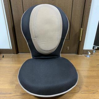 背筋がGUUUN美姿勢座椅子 ブラウン 座椅子 背筋グーン(座椅子)