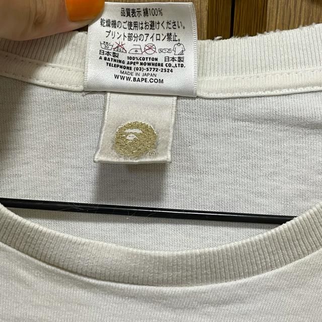 A BATHING APE(アベイシングエイプ)の【希少】ape 2012 NIGO ERA Tシャツ M アーカイブ メンズのトップス(Tシャツ/カットソー(半袖/袖なし))の商品写真