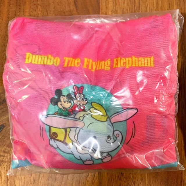 Disney(ディズニー)のディズニー エコバッグ ダンボ カプセルトイ エンタメ/ホビーのおもちゃ/ぬいぐるみ(キャラクターグッズ)の商品写真