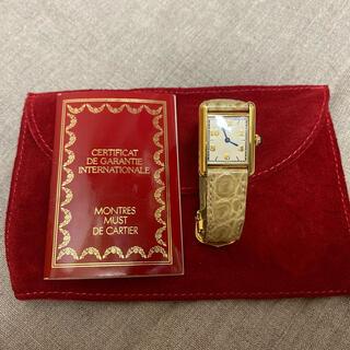 Cartier - カルティエ マストタンク アラビア文字盤