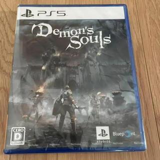 プレイステーション(PlayStation)のデモンズソウル リメイク ps5(PCゲームソフト)