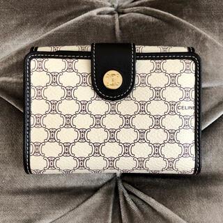 セリーヌ(celine)の良品✨CELINE ❤️ マカダム ヴィンテージ 折り財布(財布)
