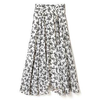 グレイル(GRL)の花柄フレアヘムスカート(ロングスカート)