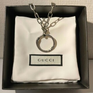 Gucci - GUCCI ウロボロス ネックレス