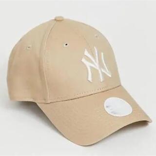 NEW ERA - New Era NY ニューエラ ヤンキース キャップ ベージュ 新品未使用