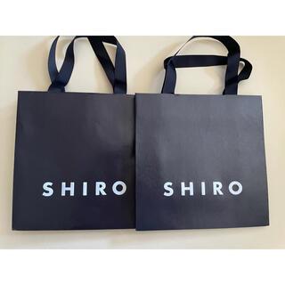 SHIRO ショッパー 紙袋(ショップ袋)
