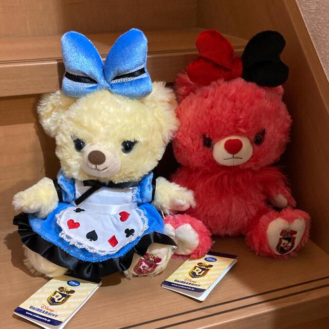 Disney(ディズニー)のユニベア アリス エンタメ/ホビーのおもちゃ/ぬいぐるみ(キャラクターグッズ)の商品写真